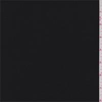 *2 1/8 YD PC--Black Flannel Twill