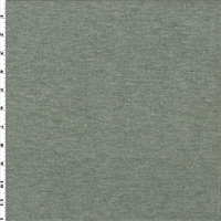 *1 YD PC--Light Gray Wool Blend Heathered Sweater Knit/Grid Fleece