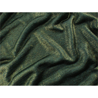 *3 YD PC--Army Green Sparkle Jersey Knit
