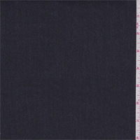 *1 YD PC--Soft Black Medium Weight Stretch Denim