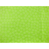 *7 YD PC--Neon Yellow Polka Dot Jersey Knit