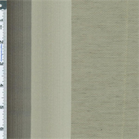 *2 YD PC--Silk/Linen Blend Gray/Beige Stripe Valtteri Grape Home Decorating Fabric