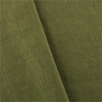 *3 YD PC - Olive Green Linen Drapery Fabric