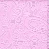 Shabby Chic Pink Paisley Matelasse