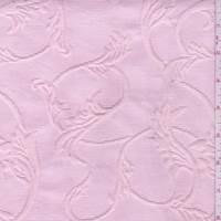Shabby Chic Pink Leaf Matelasse