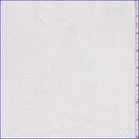 White/Beige Mini Lattice Stretch Twill
