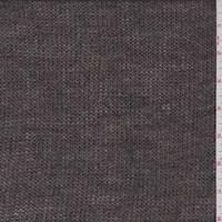 Ash Brown Wool Sweater Knit