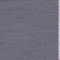 Black/Grey Stripe Wool Blend Suiting