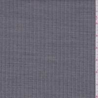 Navy/Taupe Herringbone Stripe Wool Blend Suiting