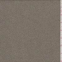 Olive/Beige Rectangular Check Wool Blend Suiting