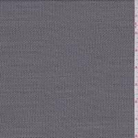 Dark Taupe Stripe Wool Blend Suiting