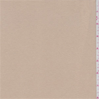 *4 YD PC--Tan Rib Knit