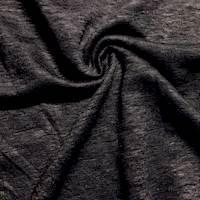 *4 7/8 YD PC--Dark Charcoal Black Sweater Knit