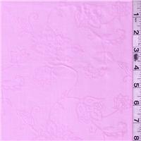 *3 1/4 YD PC--Pink Floral Lawn