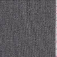 Black/Ecru Wool Crepe