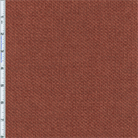 *3 YD PC--Terracotta Red/Orange Aura Chenille Home Decorating Fabric