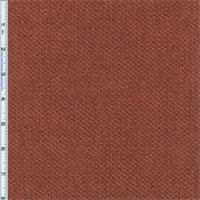 *3 YD PC--Terracotta Red/Orange Aura Chenille Home Decorating Fabric