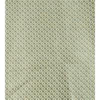 *1 YD PC--Bali Green Circle Woven Foulard Upholstery
