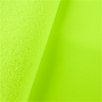 *1 5/8 YD PC--Neon Yellow Soft Shell Fleece