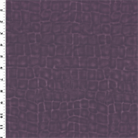 *4 YD PC - Purple Faux Alligator Leather Upholstery