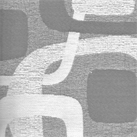 *1/2 YD PC -Jacquard Prelude Cement Gray Jacquard Home Decorating Fabric