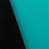 *2 YD PC - Soft Shell Fleece - Arctic Teal/Black