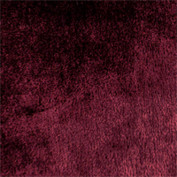 *1 3/4 - JB Martin Bordeaux Red Mohair Nevada Velvet Home Decorating Fabric