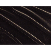 *1 3/8 YD PC--Chocolate Brown Stretch Velvet