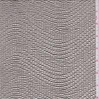 *2 1/2 YD PC--Gold/Silver Metallic Foil Jersey Knit