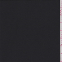 *1 YD PC--Black Polyester Suiting