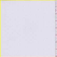 *2 YD PC--White Diamond Dobbie Polyester Lining