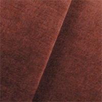 *2 YD PC--Brick Red JB Martin Milan Slub Velvet Upholstery Fabric