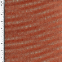 *5 YD PC--Linen Blend Chenille Envy Red-Orange Home Decorating Fabric