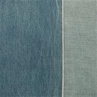 *3/4 YD PC--Blue Acid Wash Cotton Japanese Selvedge Denim