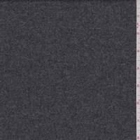 Steel Grey Wool Flannel Suiting