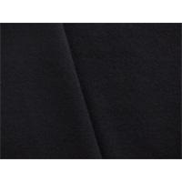*2 3/8 YD PC--Black Wool Blend Gabardine