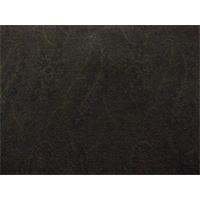 *3/4 YD PC--Brown/Black Wool Paisley Jacquard