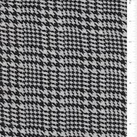 Black/White Houndtooth Knit