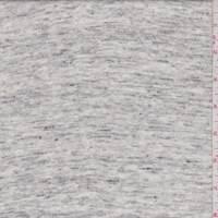 Ivory Heather Sweater Knit