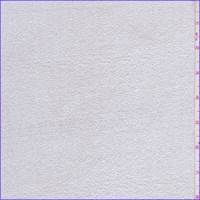 White/Silver Shimmer Crepe