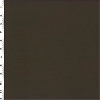 *1 1/3 YD PC--Dark Brown Faux Leather Upholstery