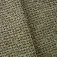 *1 YD PC--Ivory/Multi Textured Chenille Home Decorating Fabric