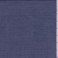 *3 YD PC--Lilac Blue Chenille Suiting