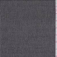 *2 1/2 YD PC--Olive Brown/White Stripe Linen Blend
