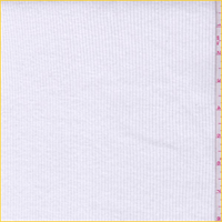 *1 YD PC--Off White Cotton Rib Knit