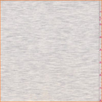 *1 3/4 YD PC--Heather White/Grey Double Knit