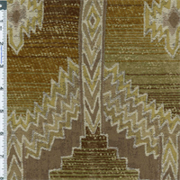 *2 YD PC-- Brown/Beige Canyon Aztec Chenille Home Decorating Fabric