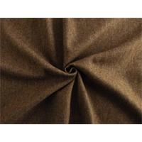 *1 7/8 YD PC--Brown Wool Blend Brushed Jacketing