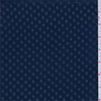 *7 YD PC--Blue Night Leno Hashtag Chiffon