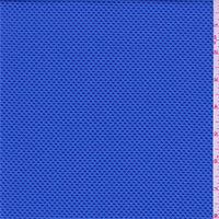 *3 YD PC--Periwinkle Pique Novelty Activewear